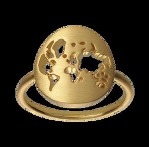 Bilde av ByBiehl Beautiful World ring gold - 56