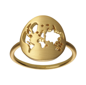 Bilde av ByBiehl Beautiful World ring gold - 60