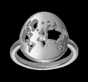 Bilde av ByBiehl Beautiful World ring silver -