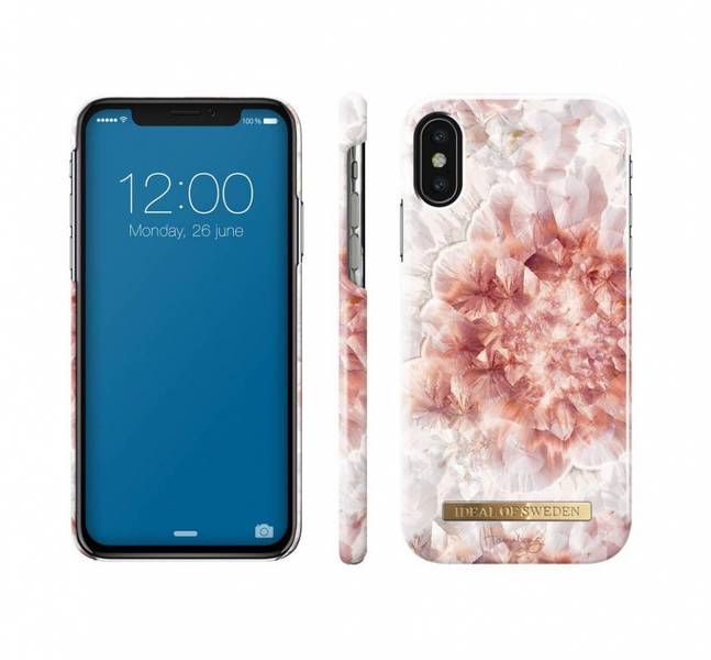 Fashion Case Hannalicious IPhone X/Xs Rose Quartz