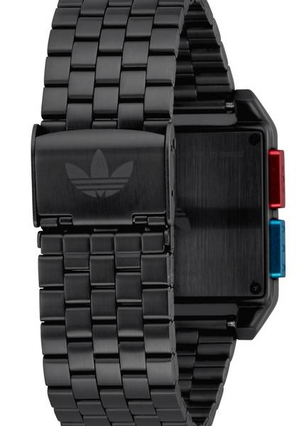 Adidas Archive_M1 All Black / Blue / Red