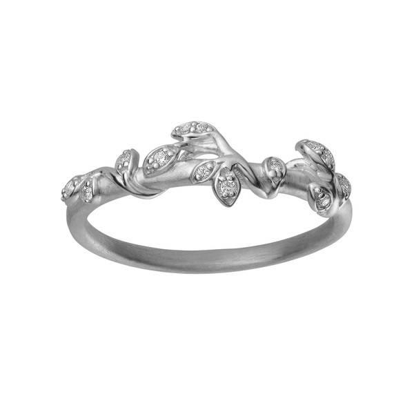 Bilde av byBiehl Jungle ivy ring stones silver
