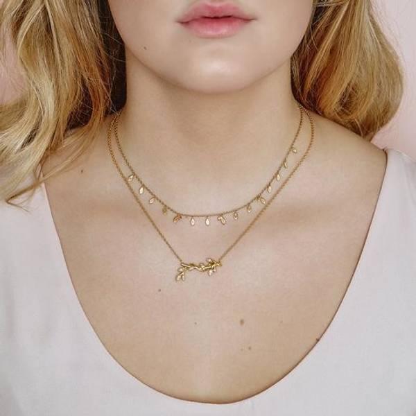 Bilde av byBiehl Jungle Vine necklace - Gold