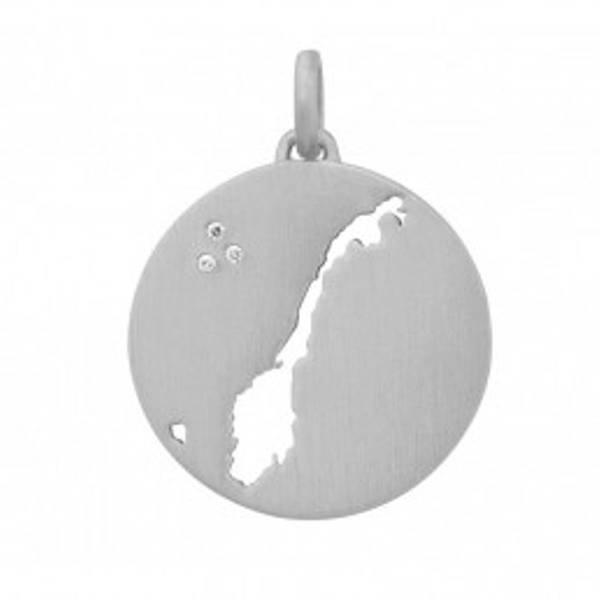 Bilde av byBiehl Beautiful Norway Necklace Silver 45cm