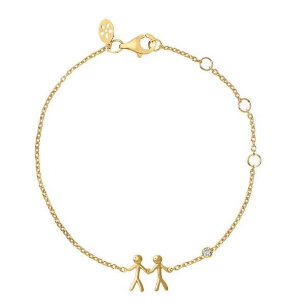 Bilde av byBiehl Together My Love Bracelet Gold