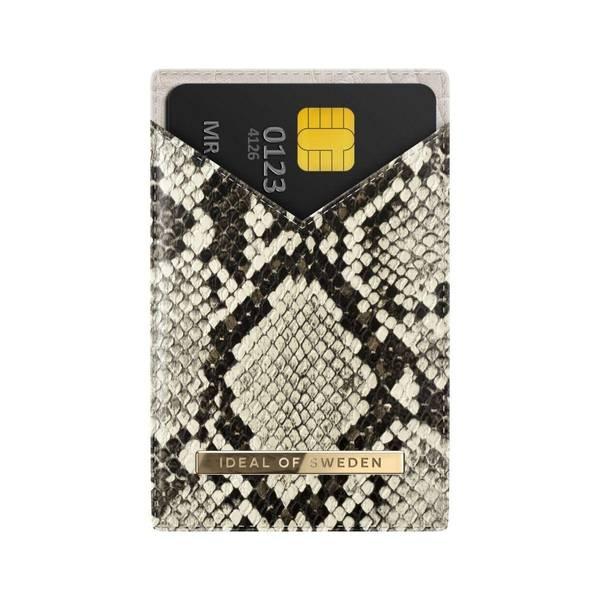 Bilde av Magnetic Card Holder SS20 Universal Dusty Cream Python