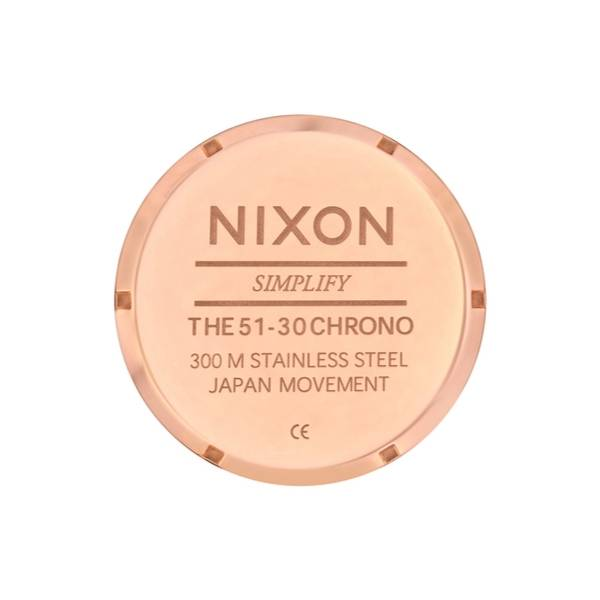 Bilde av Nixon 51-30 Chrono All Rose Gold