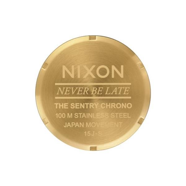 Bilde av Nixon Sentry Chrono Gold