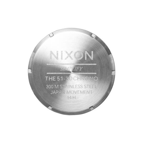 Bilde av Nixon 51-30 Chrono Silver / Gold