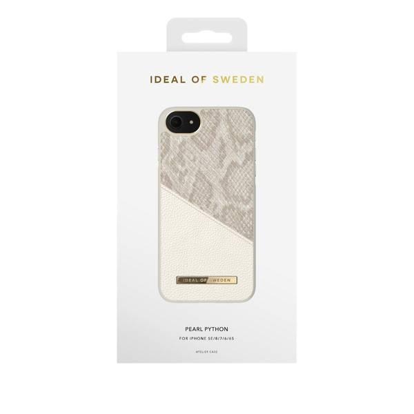 Bilde av Fashion Case Atelier iPhone 8/7/6/6s/SE Pearl Python
