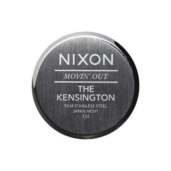 Bilde av Nixon Kensington Leather Naturel / silver