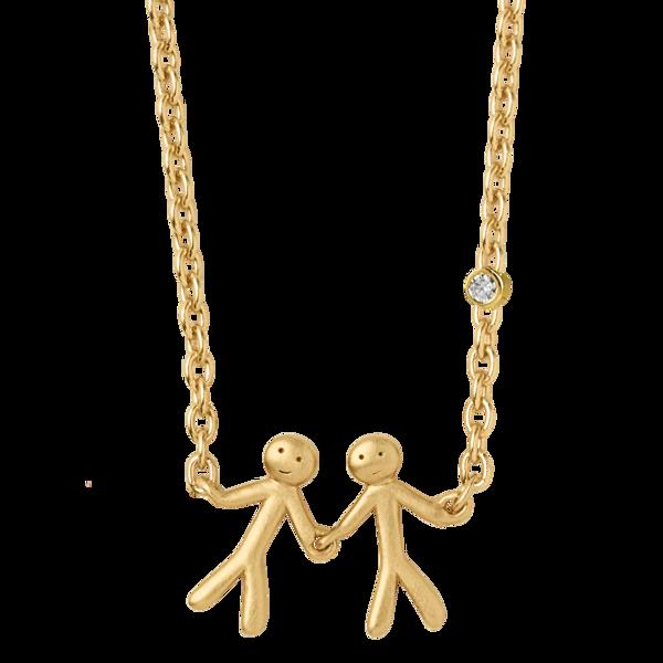 Bilde av byBiehl Together My Love Necklace Gold