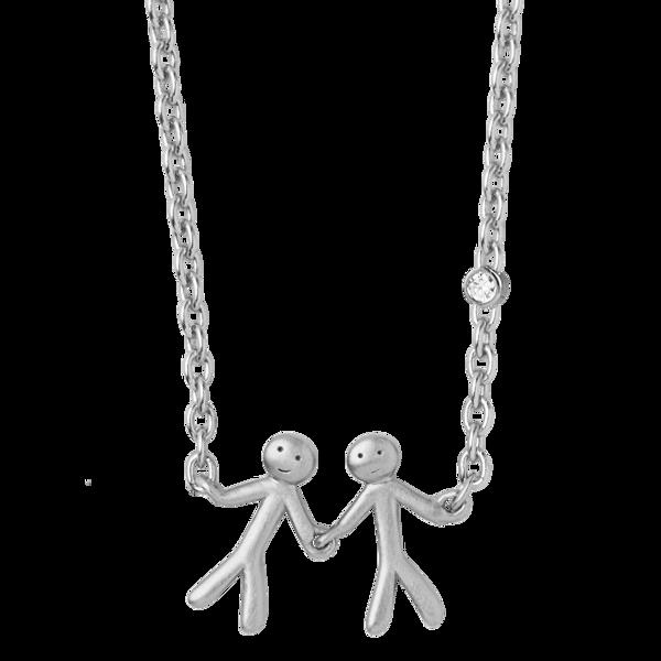 Bilde av byBiehl Together My Love Necklace Silver