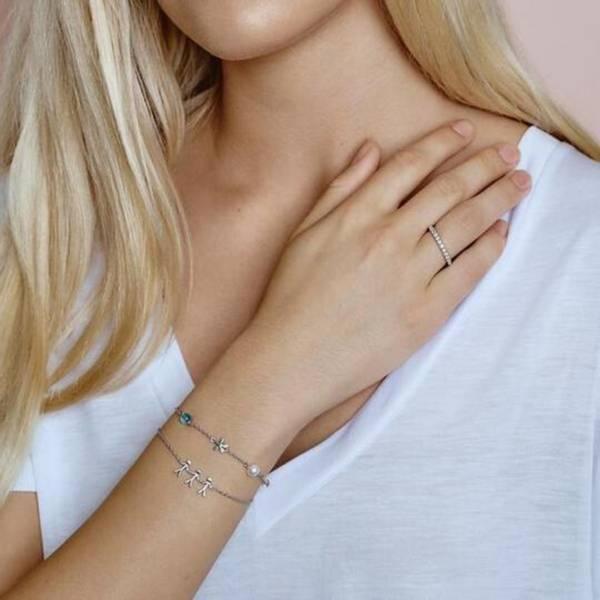 Bilde av byBiehl Together Family 3 Bracelet Silver