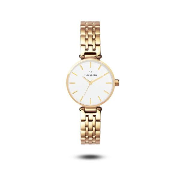 Bilde av Original Links 28 Gold strap / White dial