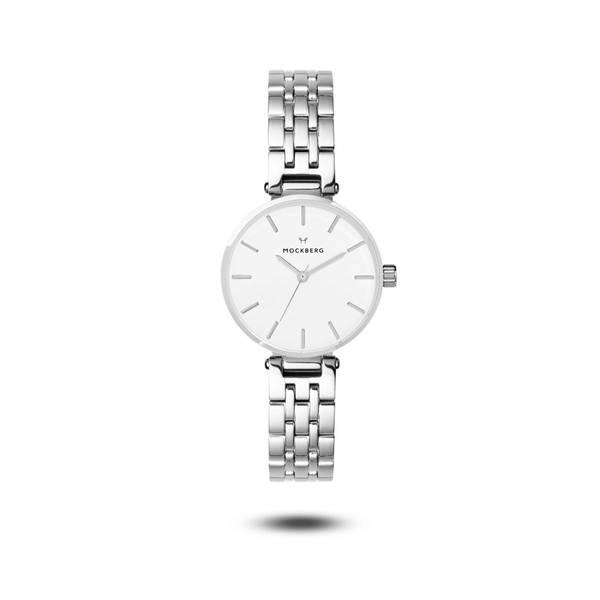 Bilde av Original Links 28 Silver strap / White dial