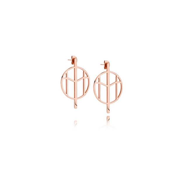 Bilde av M Earrings RG Small