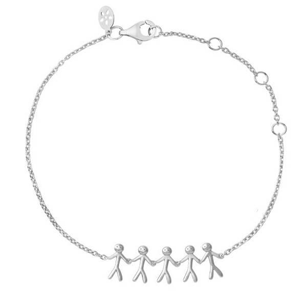 Bilde av byBiehl Together Family 5 bracelet silver