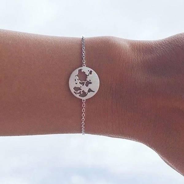 Bilde av byBiehl Beautiful World Bracelet Silver