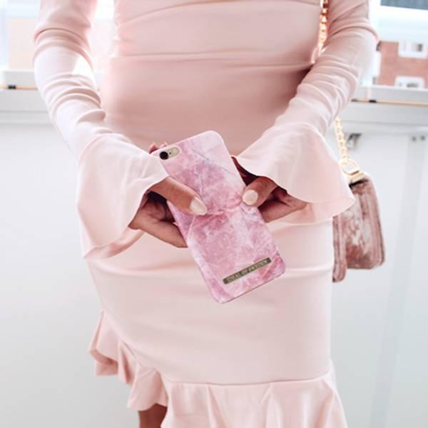 Bilde av Fashion Case Pilion Pink Marble 6/7/8 Plus