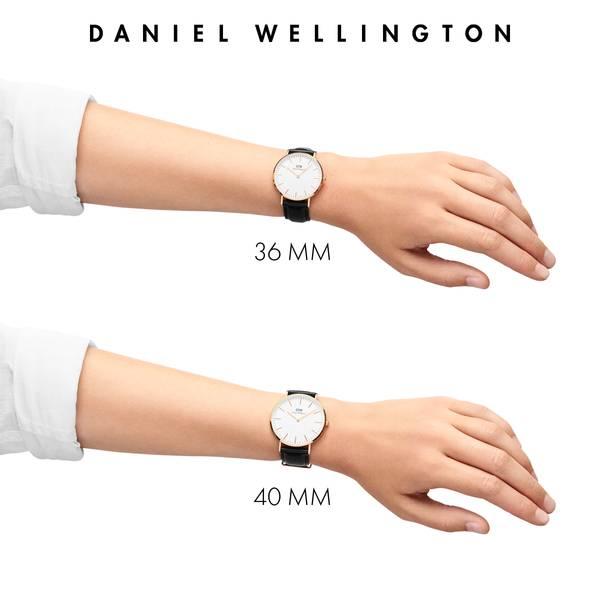 Bilde av Daniel Wellington Classic St Mawes Silver 40mm