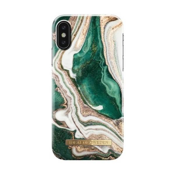 Bilde av Fashion Case Golden Jade Marble X
