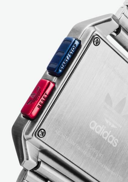 Bilde av Adidas Archive_M1 Silver / Black / Blue / Red