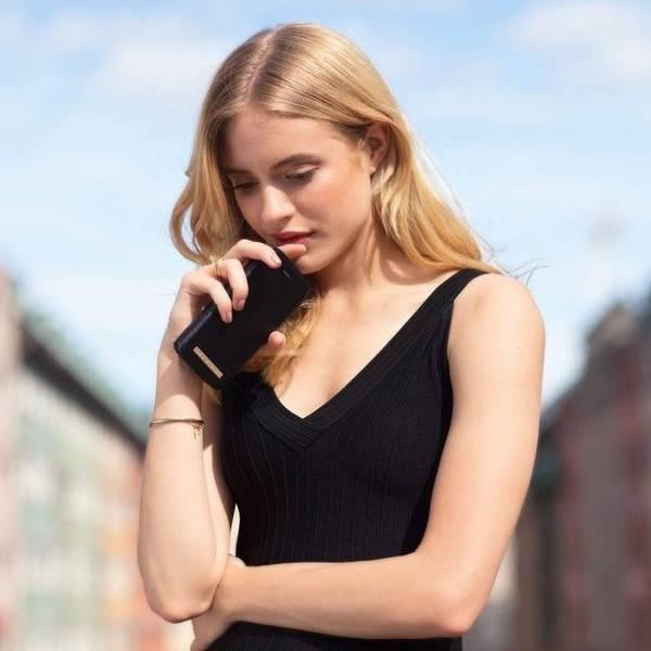 Bilde av Fashion Wallet Black X