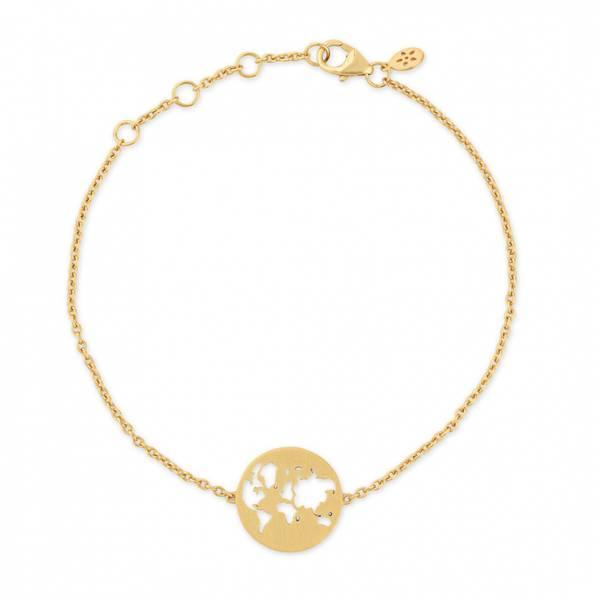 Bilde av byBiehl Beautiful World Bracelet Gold