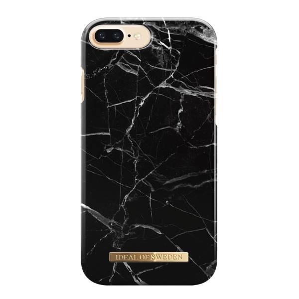 Bilde av Fashion Case iPhone 8/7/6/6S Plus Black Marble