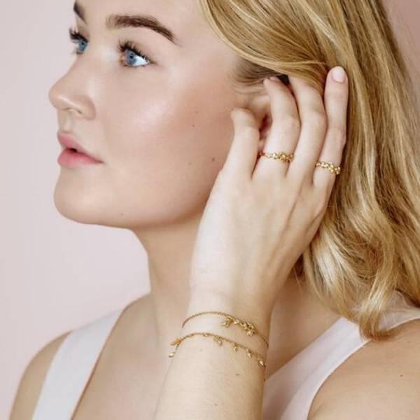 Bilde av byBiehl Jungle Vine bracelet - Gold