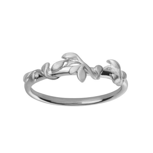 Bilde av byBiehl Jungle ivy ring silver