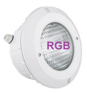 Bilde av PAR56 V2 LED LAMPE + NISJE ABS FRONT RGB