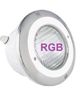 Bilde av PAR56 V2 LED LAMPE + NISJE RVS FRONT RGB