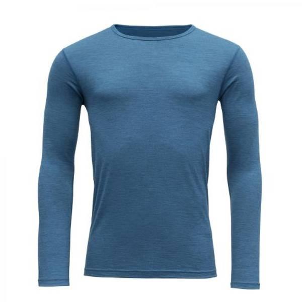 Devold Breeze Herre Shirt Blue Melange