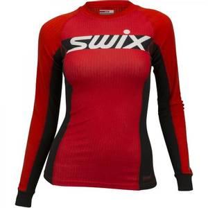 Bilde av Swix Racex Carbon Genser Dame Fiery Red