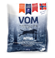 Active Fullfôr  kKjøttboller Med Laks 15 x 560 g Eske