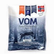 Vom og Hundemat Active Fullfôr Kjøttboller 15 x 560 g Eske