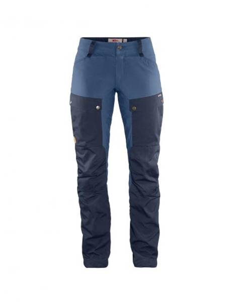 Fjällräven Keb Trousers Curved W Reg  Dark Navy-Uncle Blue
