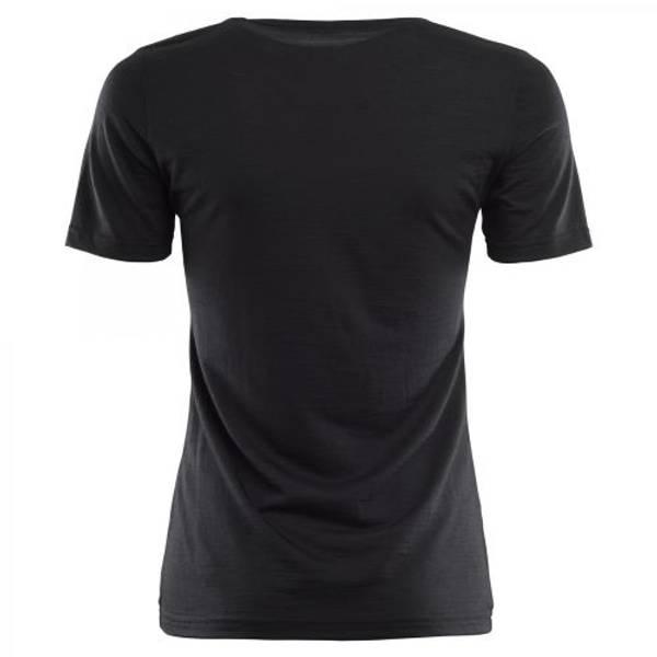 Aclima Lightwool  T-skjorte Dame Jet Black