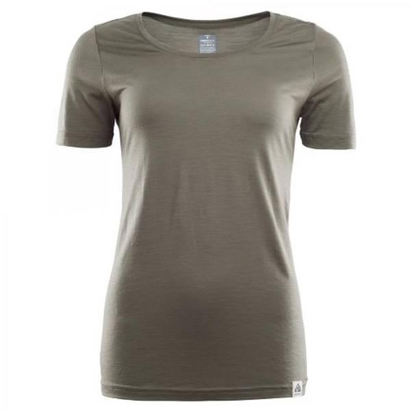 Aclima Lightwool  T-skjorte Dame Ranger Green