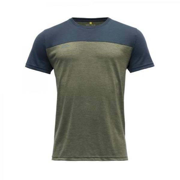 Devold Norang T-skjorte Herre Lichen Melange/Night