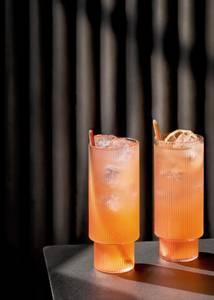 Bilde av Ripple Long Drink Glasses (set of 4)