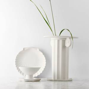 Bilde av Athena Ceramics Shell Tray L white