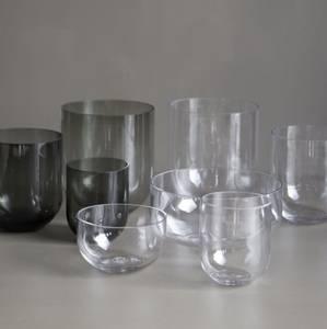 Bilde av Simple Glass Vase Smoked