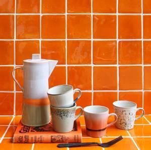 Bilde av Ceramic 70`s Americano mugs (set of 4)