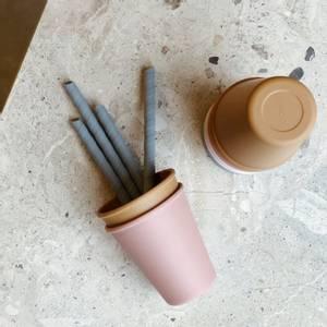 Bilde av  Silicone Straw Set 8 Pack