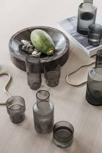 Bilde av Ripple Glass - Set of 4 - Smoked Grey