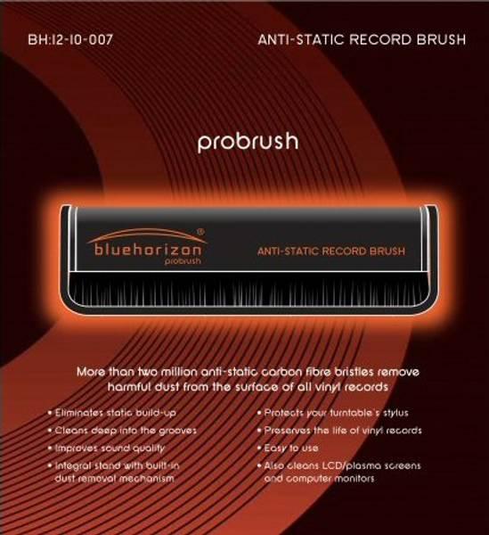 Blue Horizon Antistatisk LP børste