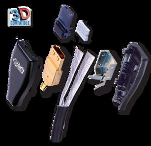 Bilde av Custom Liberty HDMI kabel